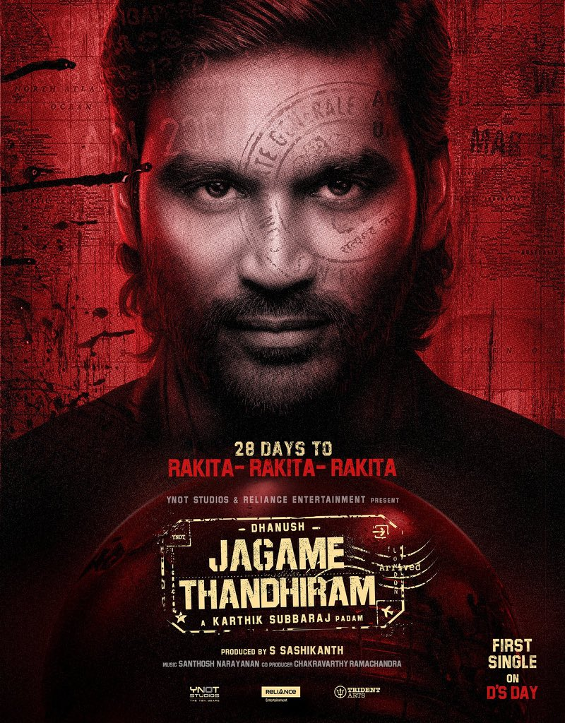 Interesting update about Dhanush's 'Jagame Thanthiram'
